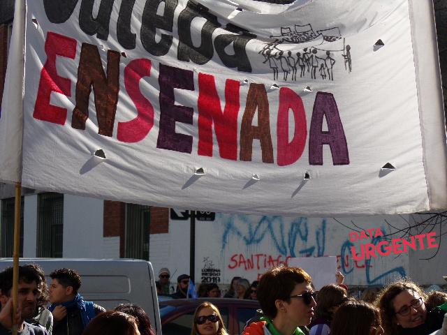 Marcha EOE Buenos Aires Foto Diana Godoy