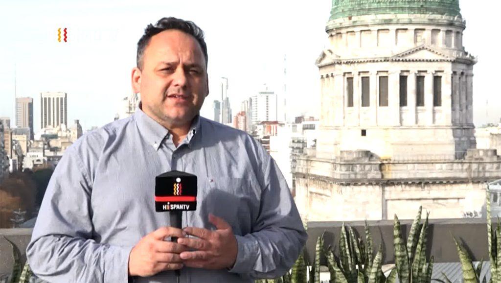 Hispan TV Sebastián Salgado