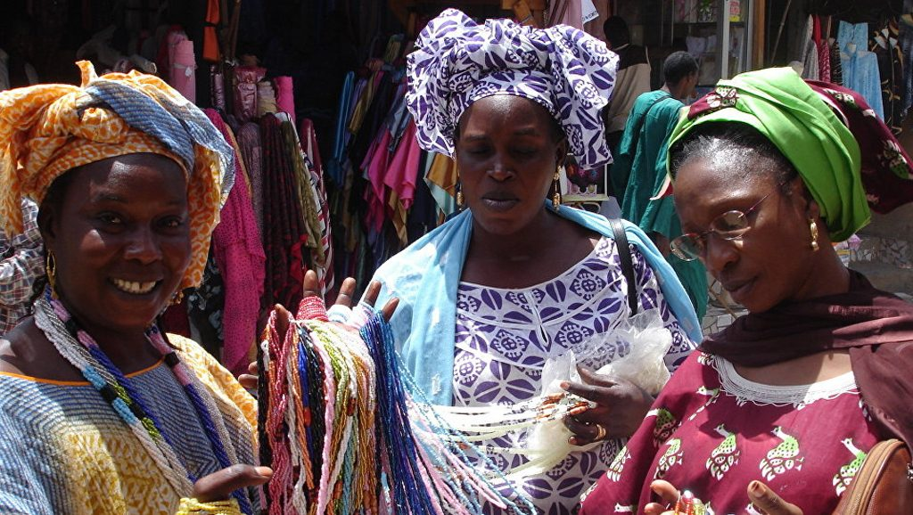 Mujeres de áfrica occidental