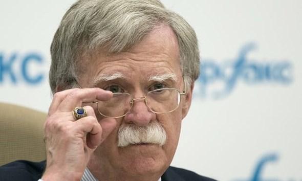 John Bolton, asesor de seguridad nacional de los EE. UU., es el defensor más poderoso de MeK. Foto AP