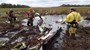 Acidente aéreo Paraguay - Foto El Nuevo Diario