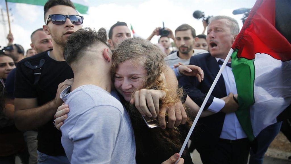 Ahed Tammimi libre - Data Urgente - Foto Internet