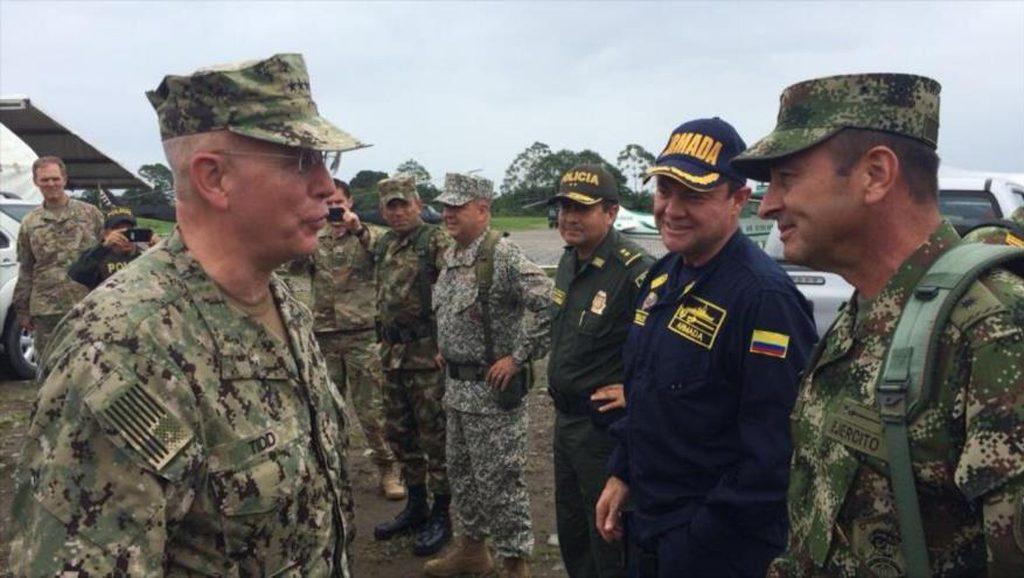 Articulación Comando Sur y Fuerzas Armadas colombianas