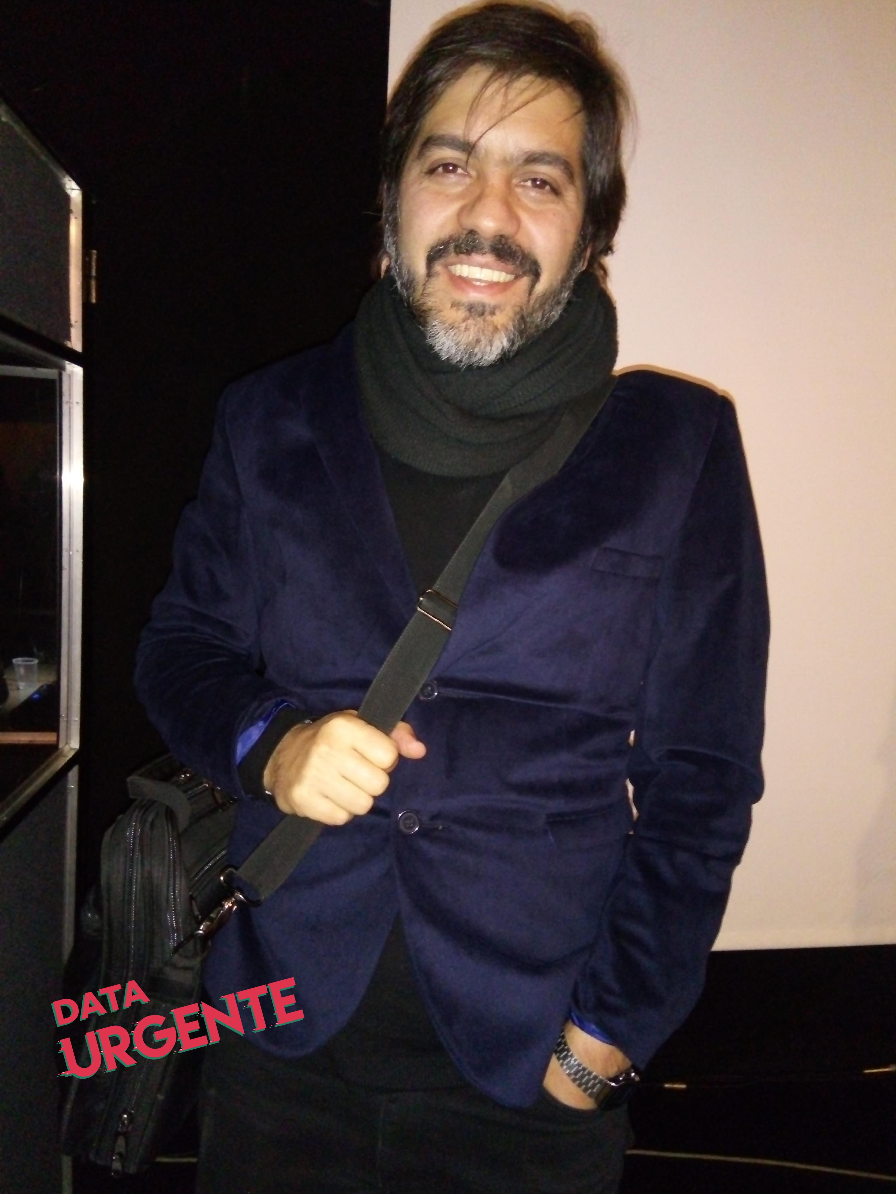 Carlos Bianco - Data Urgente - Foto Ana Claudia Aguilera