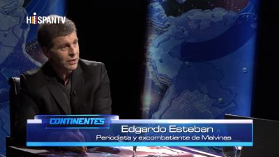 Edgardo Esteban - Malvinas - Data Urgente