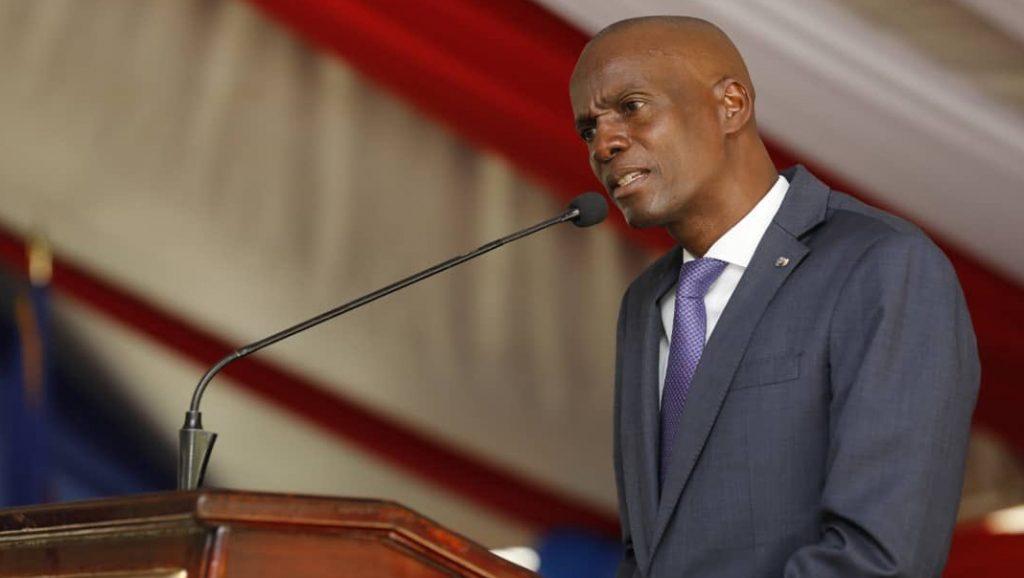 El presidente de Haití - Jovenel Moise