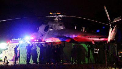 Helicóptero en Tailandia