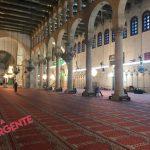 Interior de la Mesquita en Damasco