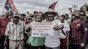Marcha campesina Admirable - Caracas - Venezuela - Foto Cumunidades al mando