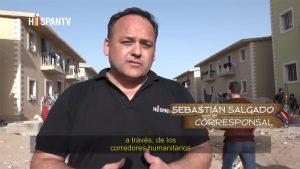 Sebastián Salgado - Corresponsal - Siria, los niños y la guerra - Hispan TV
