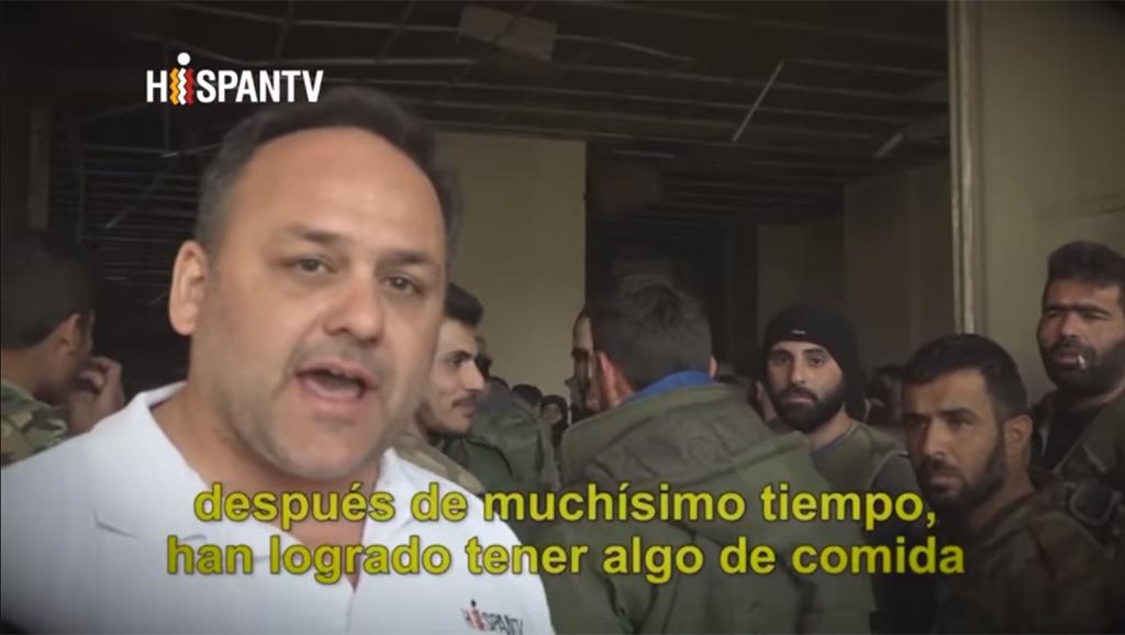 Sebastián Salgado - Siria, los niños y la guerra - Hispan TV