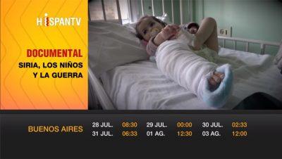 Siria, los niños y la guerra - Sebastián Salgado - Hispan TV