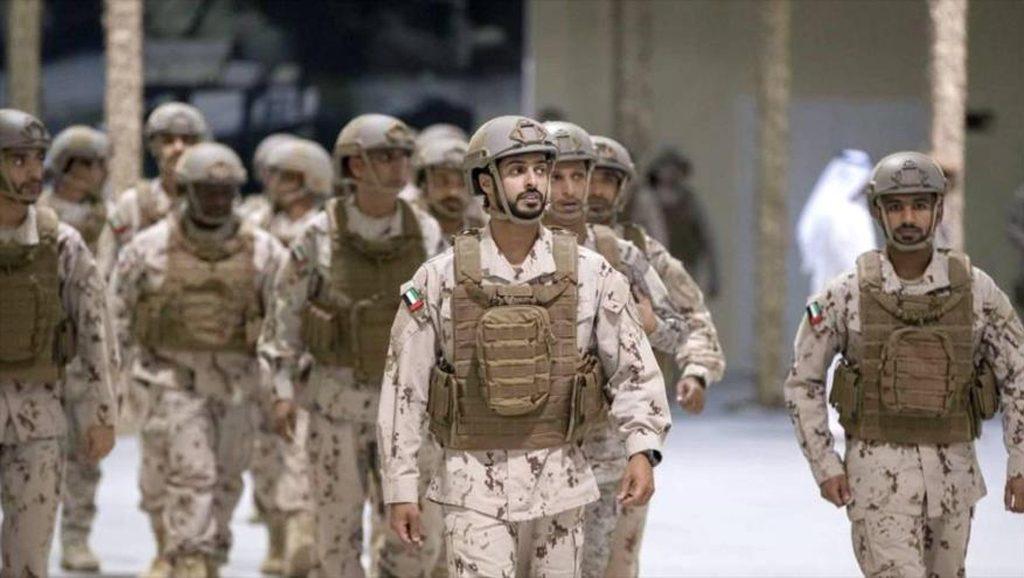 Soldados emiraties