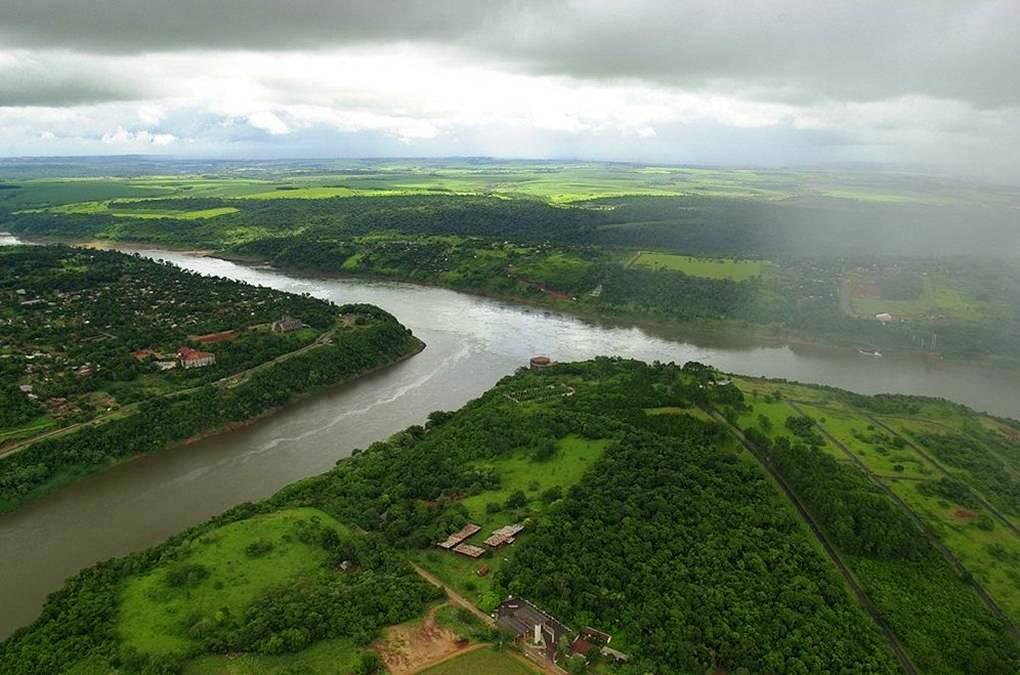 Triple frontera en el litoral argentino