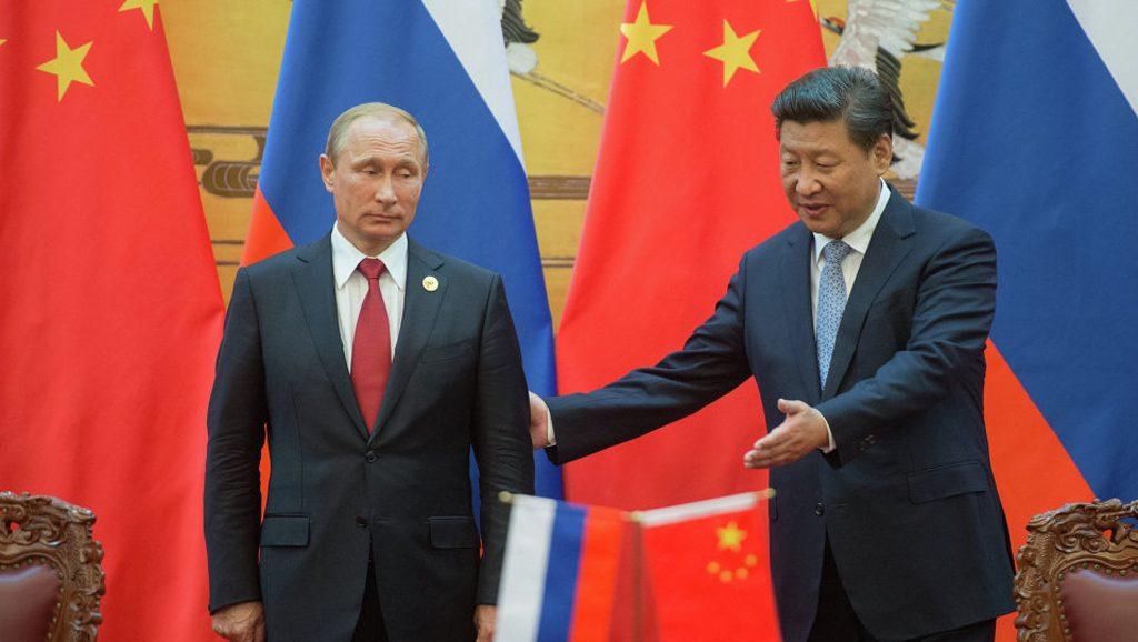 Xi Jinping Vladymir Putin - Brics - Data Urgente - Foto Agencias
