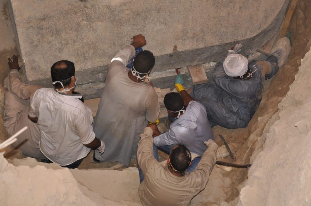 Sarcófago en Egipto - Foto RT
