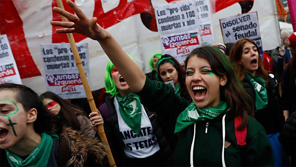 Aborto - Argentina - Fuente Google - Data Urgente