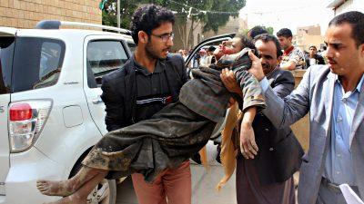 Ataque a escolares en Yemen - Fuente foto Google - Data Urgente