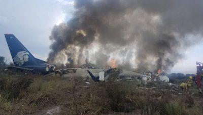 Avión - Durango - México - Data Urgente - Foto Agencias
