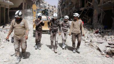 Cascos Blancos - Siria - Fuente foto web - Data Urgente