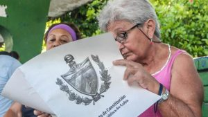 Constituyente cubana - Foto fuente Ciber Cuba - Data Urgente