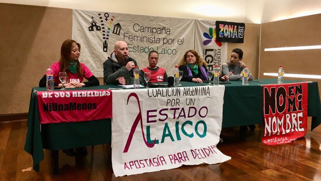 Estado Laico - Argentina - Fuente foto Twitter - Data Urgente