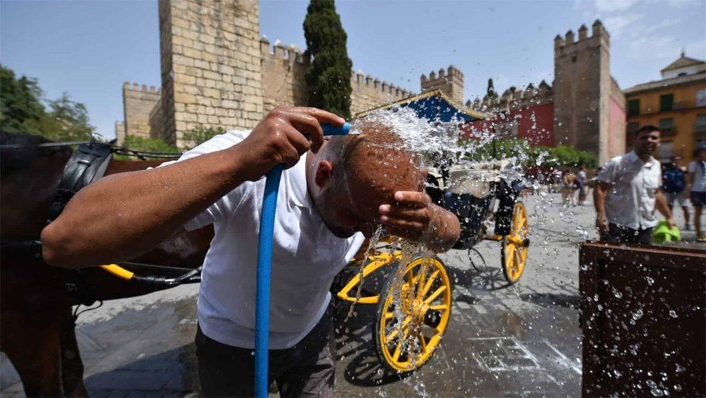 Europa - Ola de calor - Foto fuente Agencias