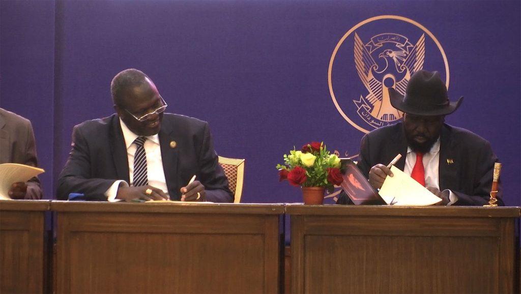 Firma de paz en Sudán del Sur - Fuente foto Agencias - Data Urgente