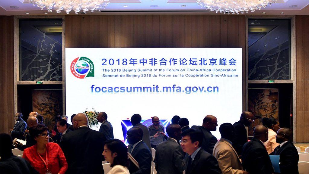 Foro sobre Cooperación China - África - Focac - Fuente foto Twitter - Data Urgente