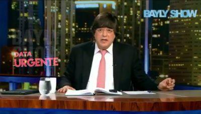 Jaime Bayly - Sabía del atentado a Maduro - Fuente web - Data Urgente