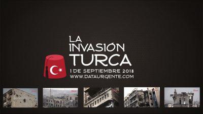 La invasión turca - Estreno 1 de septiembre - Portada - Data Urgente -