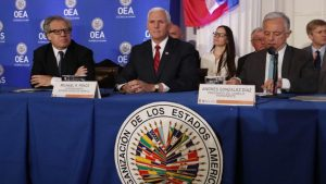 Luis Almagro Mikel Pence - Fuente foto Google - Data Urgente
