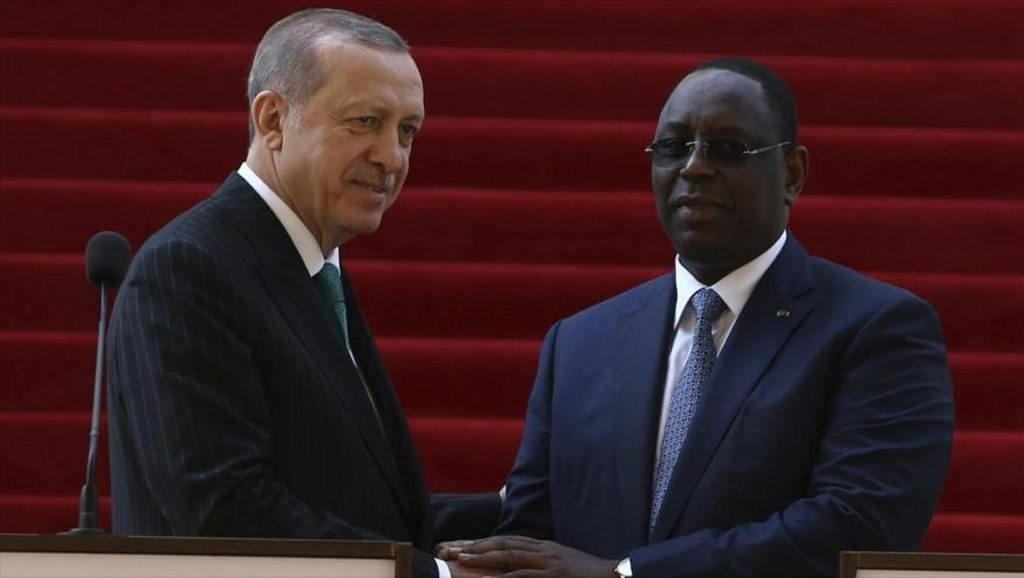 Macky Sal - Recep Tayyip Erdogan - Foto fuente Hispan TV - Data Urgente