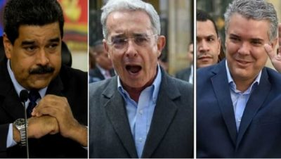 Maduro Uribe Duque - Foto Fuente Google - Data Urgente