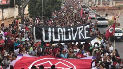Marcha por Lula Livre - Data Urgente - Fuente foto Agencias