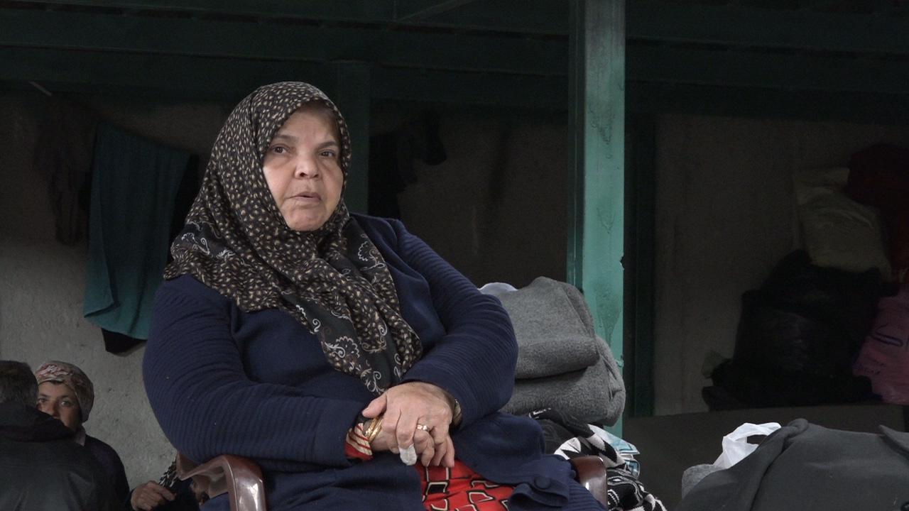 Mujer refugiada Kurda