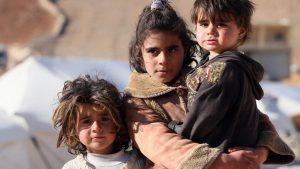 Niñxs bajo guerra - Fuente foto Resumen Latinoamericano - Data Urgente