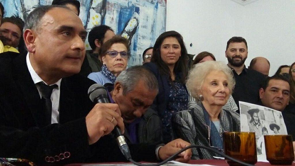 Nieto 128 - Abuelas de Plaza de Mayo - Data Urgente - Fuente foto Radio Gráfica