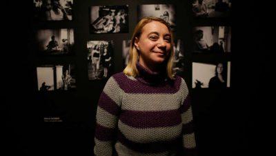 Paula Acunzo por Federio Cosso - Revista Haroldo - Data Urgente