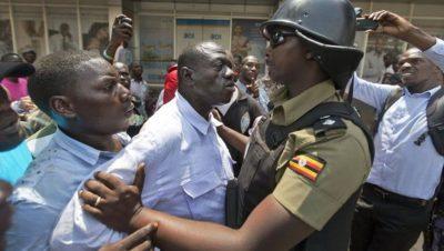 Protestas en Kampala - Uganda - Fuente foto web - Data Urgente