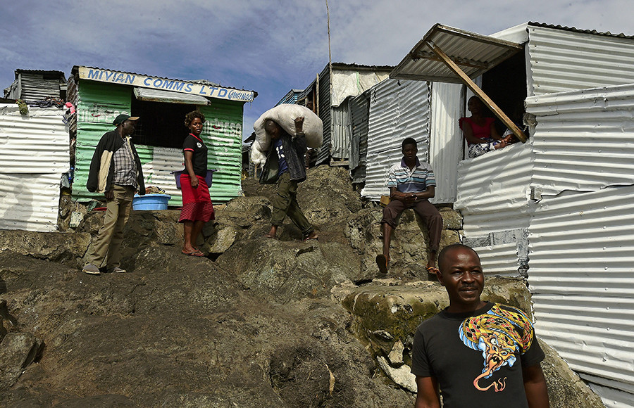 Residentes de Migingo y sus favelas - Carl De Souza - AFP - Data Urgente
