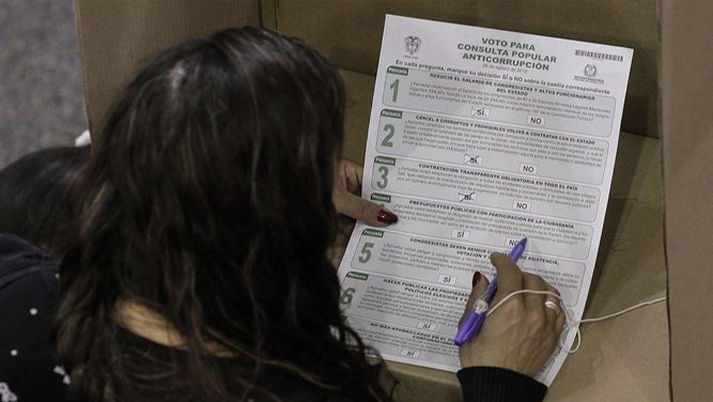 Sí a la anticorrupción en Colombia - Fuente foto web - Data Urgente