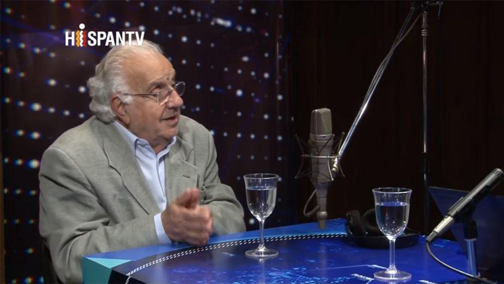 Saad Chedid en Continentes - Hispan TV - Fuente You Tube - Data Urgente