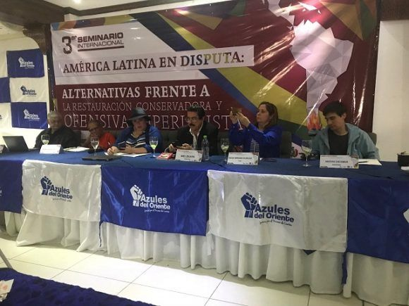 Seminario Internacional America Latina en disputa