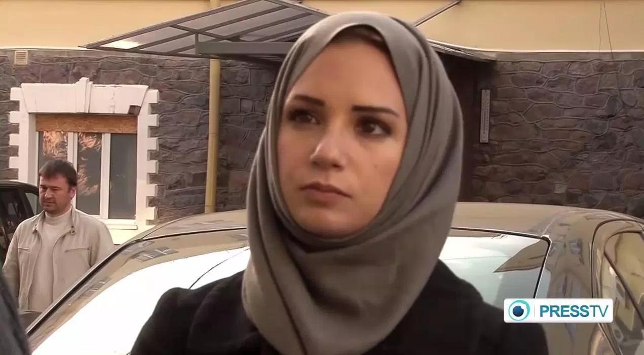 Serena Shim correponsal del canal iraní PressTV