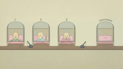Adopciones - Devoluciones de niñxs - Fuente foto El Mundo - Data Urgente