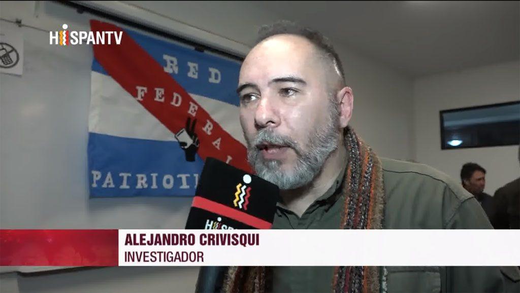 Alejandro Crivisqui - Foto fuente Hispan TV - Data Urgente