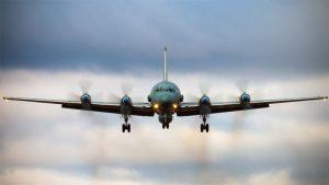 Avión militar ruso IL-20M - Fuente foto web - Data Urgente