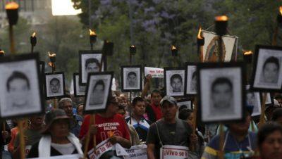 Ayotzinapa - Normalistas - 4 años - Fuente foto web - Data Urgente