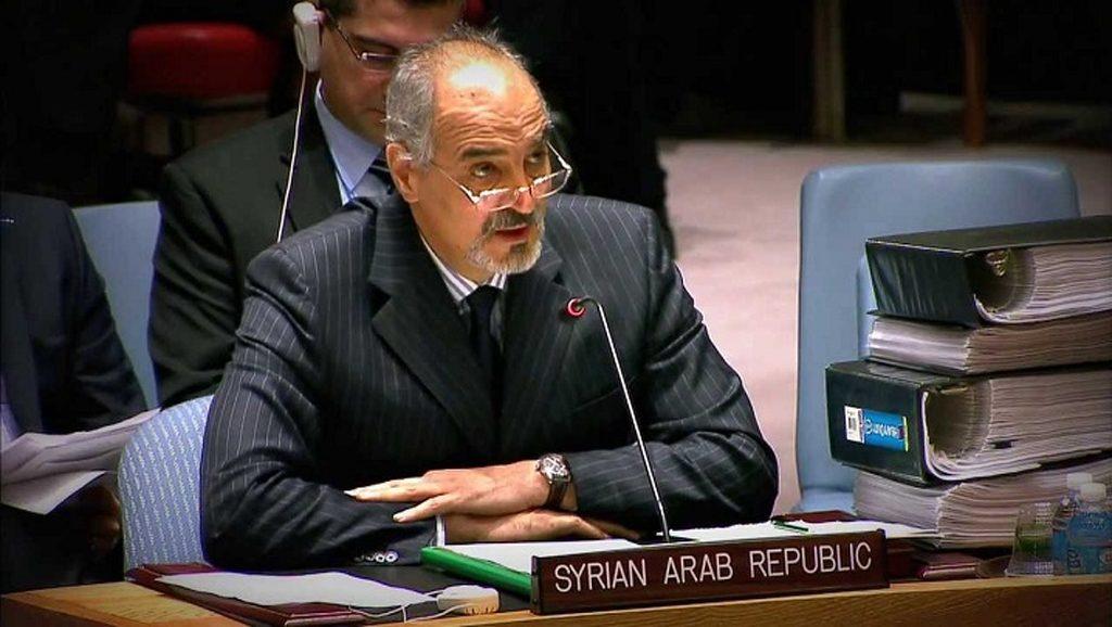 Bashar Yaafari - Siria - Naciones Unidas - Fuente foto web - Data Urgente